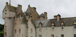 Scottish Castle Ballindalloch, an important location in Bloodlines - Touch Not The Cat
