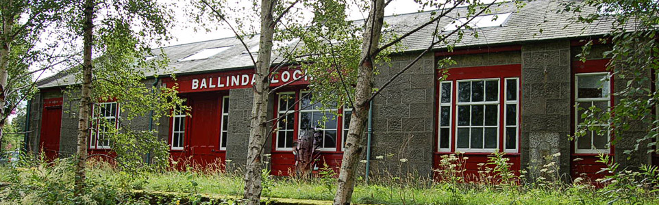 The old Ballindalloch Train Station
