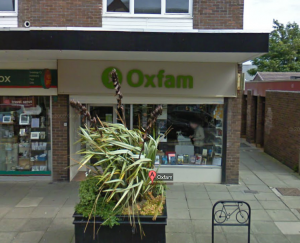Oxfam Charity Shop, Troon