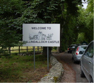 Ballindalloch Estate entrance