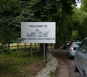 Ballindalloch Estate entrance