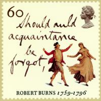 stamp robert burns